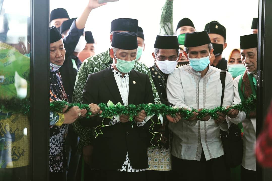 Puncak Peringatan HSN 2020, Bupati Pringsewu Resmikan Masjid Islamic Centre
