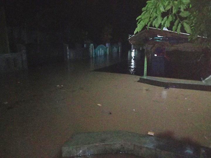 Banjir Pesawaran : Ribuan Warga Bagelen Terisolasi
