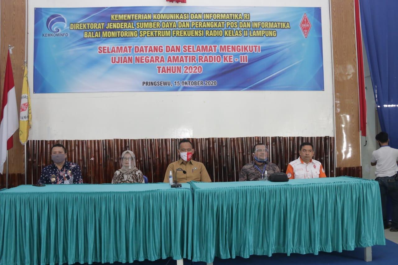 ORARI Daerah Lampung Gelar UNAR di Pringsewu.