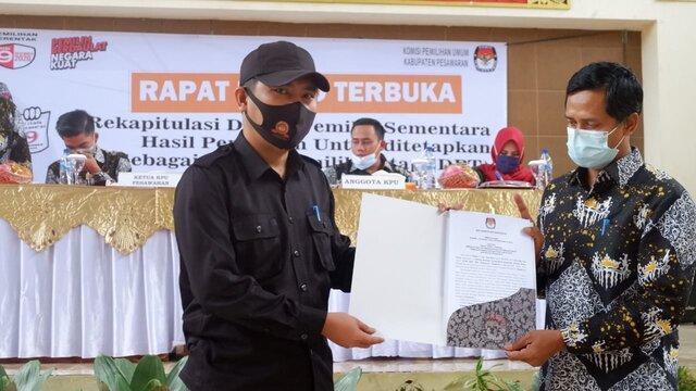 KPU Pesawaran Gelar Pleno Penetapaan DPT
