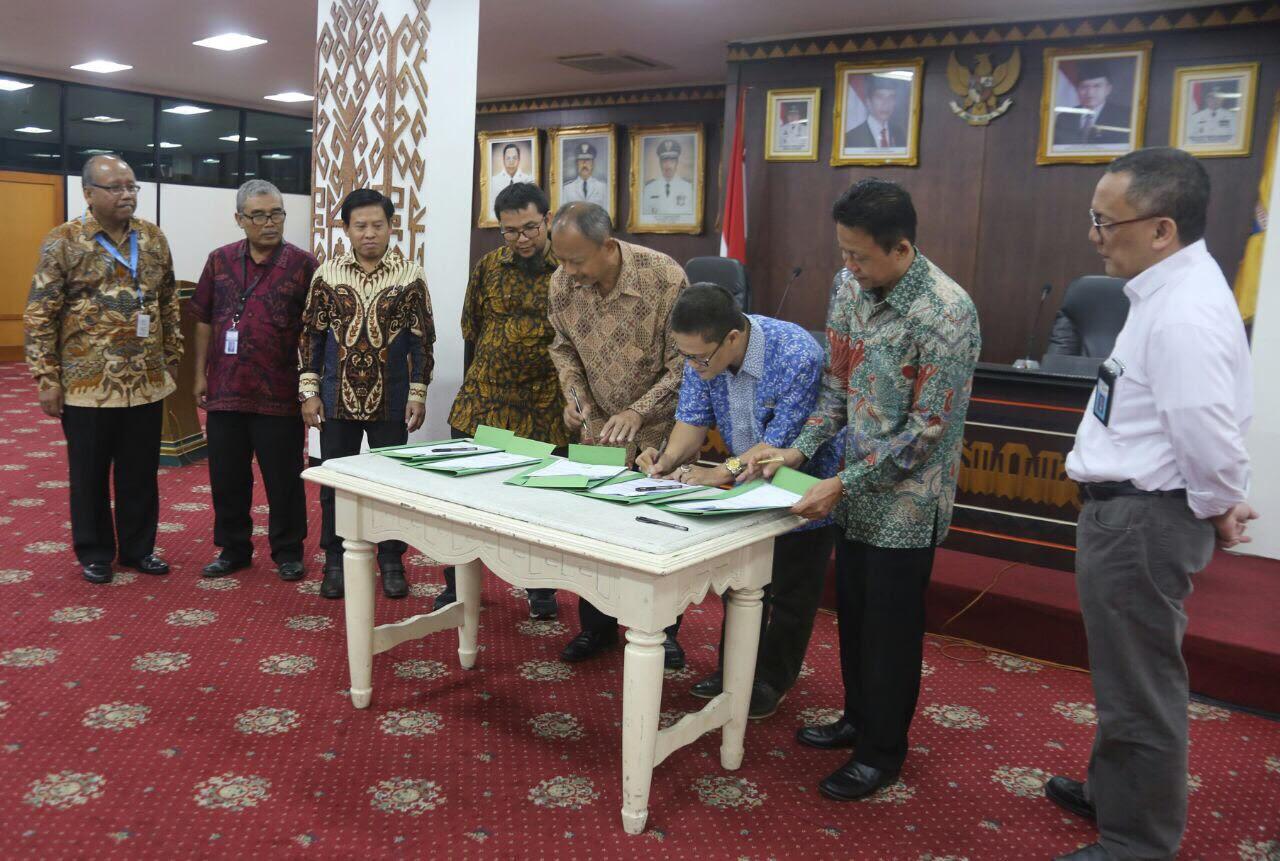 Pemprov Lampung Tandatangani Kerja Sama Penelitian dengan LIPI