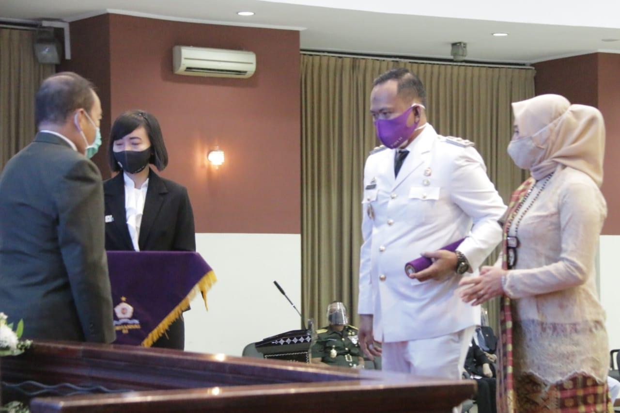 Wabup Fauzi Dinyatakan Lulus Program P3DA Lemhannas RI Angkatan XI