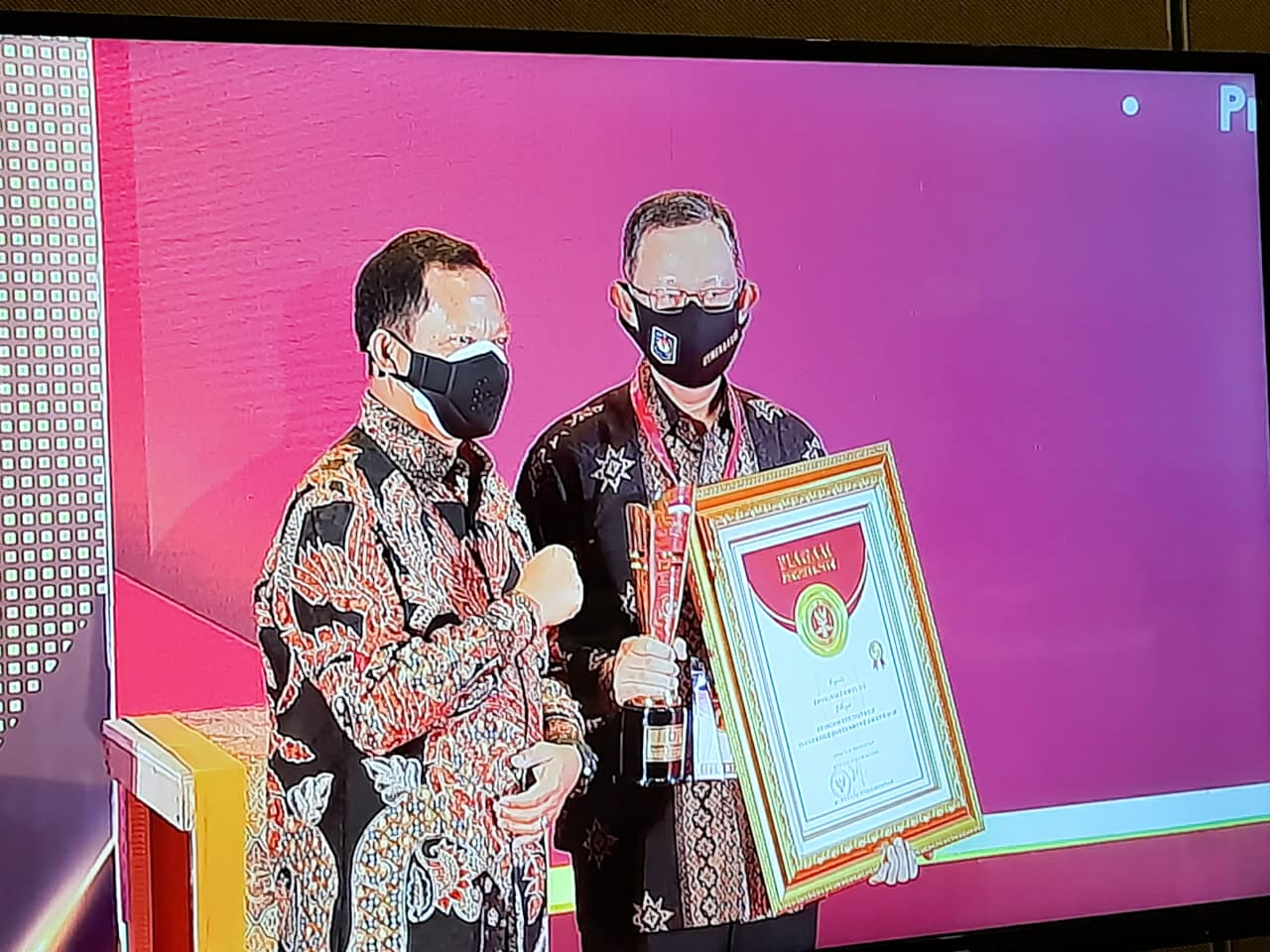 Gubernur Raih Penghargaan dalam Ajang Innovative Government Awards 2020