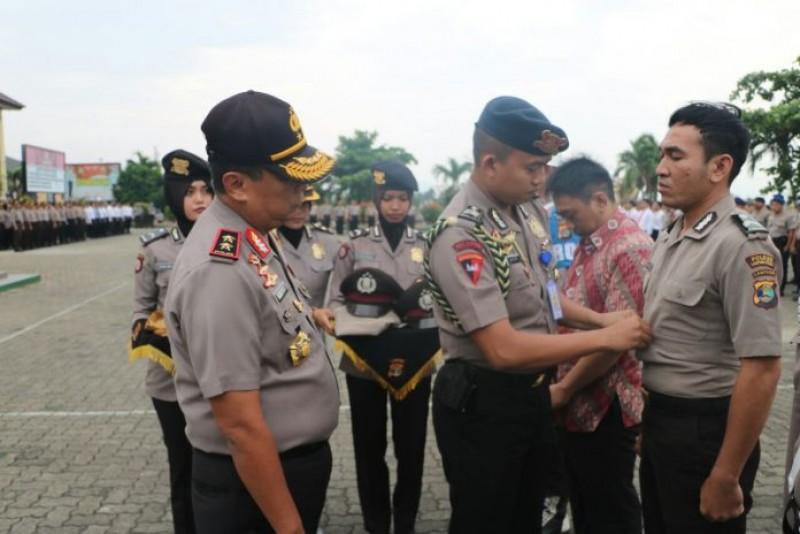 13 Personel Anggota Kepolisian Daerah (Polda) Lampung Dipecat