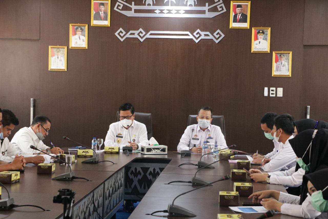 Persiapan Penilaian Daerah Peduli HAM, Kadiv Yankum Sambangi Pesawaran