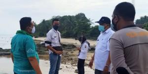 DLH Tanggamus Survei Lokasi Untuk Pembangunan Wisata Karang Putih