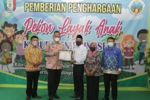 Tanjunganom Dapat Penghargaan Pekon Layak Anak Pringsewu 2021