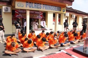 Polres Pringsewu Amankan 33 Tersangka Penyalahgunaan Narkoba