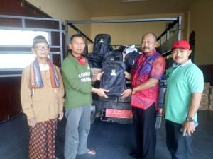 Peduli covid-19, Baznas Lampung Tengah Beri  Bantuan 600 Paket Anak Sekolah.