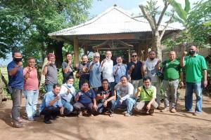 Sambangi PWI Pringsewu, Wira Mohon Dukungan Sebagai Calon Ketua PWI Lampung