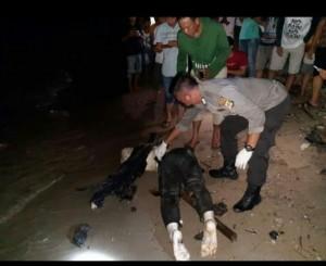 Warga Pekon Guring Geger, Temukan Mayat Anonim Terdampar di Pantai