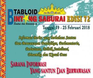 TABLOID BINTANG SABURAI EDISI 72