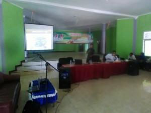 DPMP Sosialisasi Posyantek Di Pekon Waringin Sari Barat.