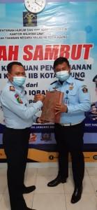 Rutan Kelas IIB Kotaagung Gelar Sertijab Kepala KPR