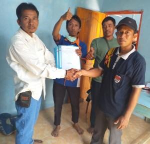 Suratman, Jurnalist Yang Berkompetisi Di Pilkades Mesuji