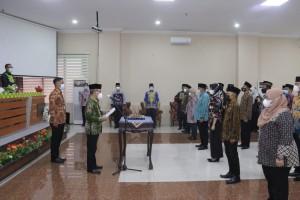 39 Pejabat Pemkab Pringsewu Dilantik