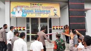 Polres Tanggamus Launching Kampung Tangguh Nusantara Di Pekon Dadapan.