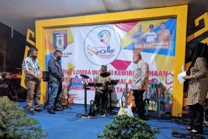 Bupati Pringsewu Sujadi Buka Expo Inovasi Kewirausahan