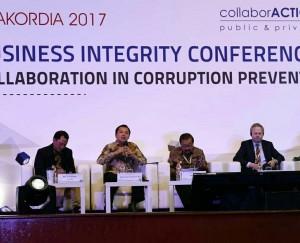 Gubernur Ridho Ficardo Jadi Pembicara Pada Internasional Business Integrity Conference (IBIC) 2017