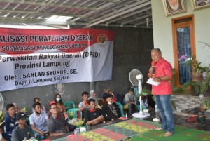 Sahlan Syukur Gelar Sosialisasi Rembuk Desa