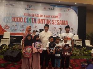 Bertajuk, 1000 Cinta Untuk Sesama, IPC Pelabuhan Panjang, Buka Bersama 1000 Anak Yatim