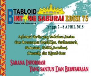 TABLOID BINTANG SABURAI EDISI 75
