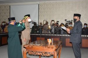 Bupati Tuba Barat Lantik Novriwan Jaya,SP Menjadi Pj.Sekdakab.