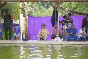 Isi Libur Cuti Bersama, Wabup Tubaba dan Jajaran OPD Ikuti Olahraga Memancing