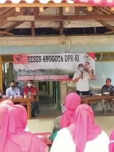 Reses di Pringsewu, Sudin Serap Aspirasi Petani