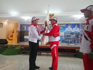 Dendi Ramadhona Target Kontingen Porprov Pesawaran Masuk Tiga Besar.
