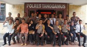Anggota DPR-RI Taufik Basari, Kunjungi Polres Tanggamus.