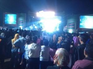 Hiburan Rakyat, Masyarakat Pringsewu Padati Lapangan Kuncup