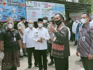 Dirjen Bina Pemdes Kemendagri Tinjau Pilkakon Serentak Kabupaten Pringsewu 2021