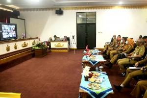 Bupati Buka Coaching Clinic SAKIP Pemkab Tanggamus dengan Kemenpan RB.
