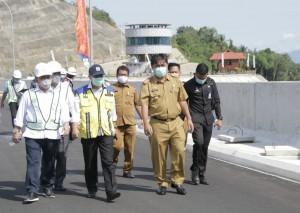 Presiden Jokowi Segera Resmikan Bendungan Way Sekampung Pringsewu.