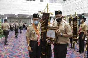 Kwarcab Pringsewu Borong Penghargaan