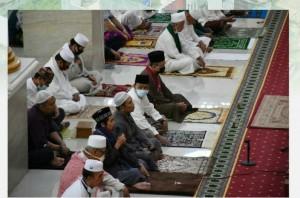 Sholat Idul Adha Di Kota Metro Dengan Standar Protokol Kesehatan.