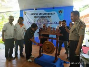 Workshop & Fun Day #1 PWI Pesawaran, Pencegahan Berita Hoax Sedini Mungkin