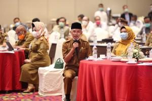 Gubernur Lampung Minta Pemkab Dan Pemkot Membatasi Kerumunan Di Wilayah Masing-masing.