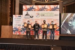 Sukses Berdayakan Masyarakat, PLN Raih 6 Penghargaan Nusantara CSR Awards 2021.