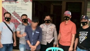 Malak Pekerja PLN, Zainal Diamankan Polsek Semaka