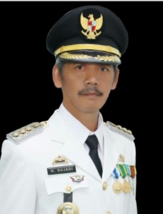 Bupati Pringsewu Ikuti Vicon Dengan Mendagri Dan Ketua KPK.