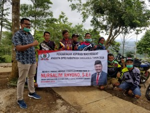 Serap Aspirasi Warga, Anggota Komisi IV DPRD Tanggamus Reses Di Bukit Neba.