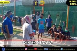 Dokter Menyapa : Wujud Kepedulian Kesehatan Bagi  WBP  Rutan Bandar Lampung